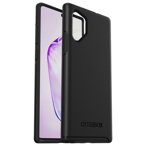 OtterBox Symmetry Shockproof Case for Samsung Galaxy Note 10+ (Black)
